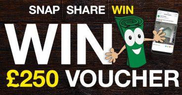 Win £250 Vouchers
