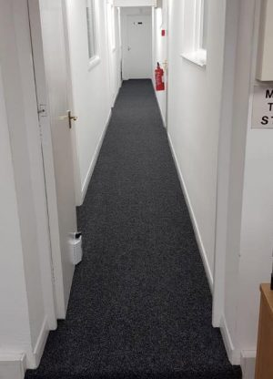 Rugby Commercial Flooring job