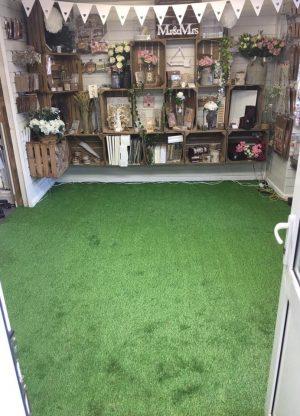 Artifical Grass Flooring Job